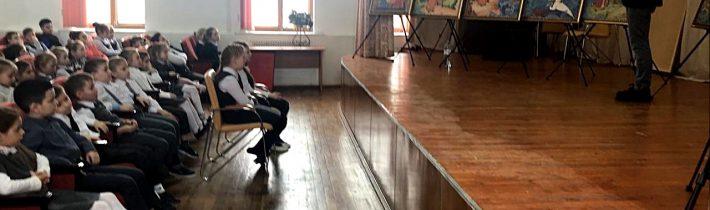 Выставка — лекция «Произведения искусства — каждой школе»