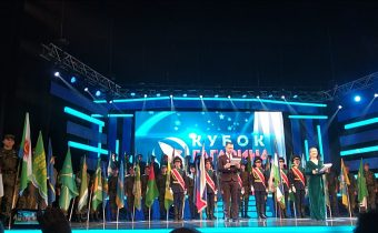 Награждение победителей и призёров Республиканской олимпиады школьников на Кубок имени Ю.А. Гагарина
