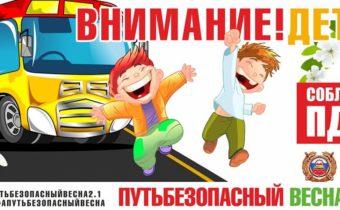 «Кировчане+ПДД=Безопасность / «Путь безопасный 2.1. Весна»