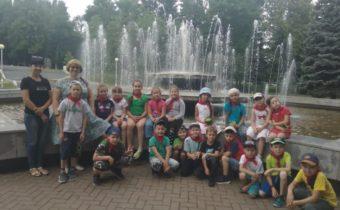 Закрытие летней смены школьного лагеря дневного пребывания «Солнышко» / отряд «Дружба»